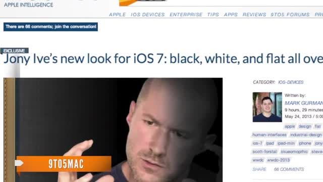 News video: What to Expect for Apple's iOS 7 Software