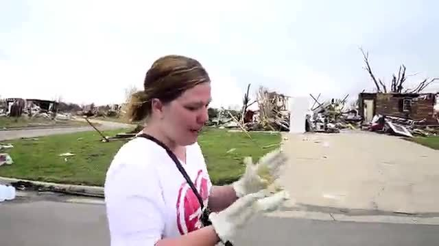 News video: Bright spots during dark times in Moore, Oklahoma