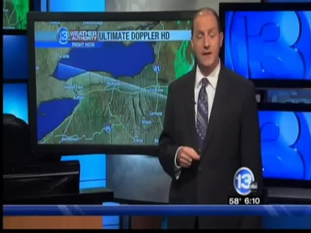 News video: 13 WHAM Weather Authority Saturday Evening Forecast